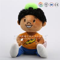 Custom made 3d face plush doll boy & make anime plush doll