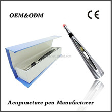 electronic acupuncture infrare laser vibration meridian energy massage pen