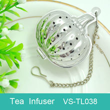 Pumpkin shaped tea infuser Halloween gift
