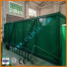 ZSA-5 waste black ship/motor/engine/marine/truck/car/mineral oil recycling equipment,get base oil from waste oil machine