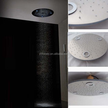 big top shower head electric color change 20 inches big top shower head