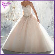 Cheap Prices!! OEM Factory Custom Design strapless empire wedding dress organza