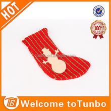 2015 girls child tube sock christmas sock for gift