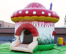Promotion style happy inflatable castles house commercial used