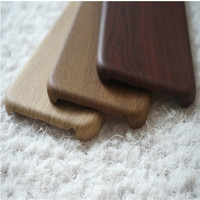Soft Leather Wood Skin Mobile Phone Case Cover For Apple Samsung