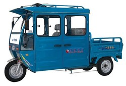 three wheel battery charging operate cargo tricycle