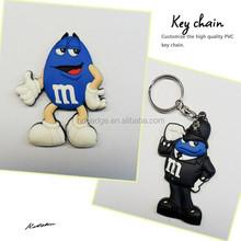 Silicon keychain / Soft pvc keychain /Rubber key chain