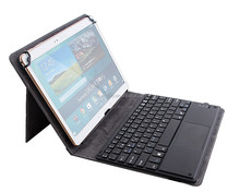 tablet pc case with keyboard and touchpad,mini bluetooth keyboard with touchpad for ipad