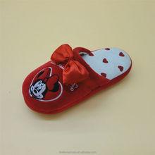 soft fabric lovely pattern mickey cartoon baby shoe ornament