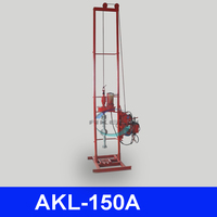 Large holes and deep wells, AKL-150A water swivel for drilling rig