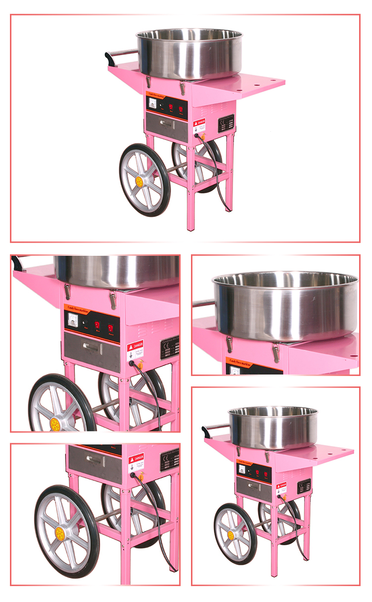 2016 Summer Product Automatic Fancy Cotton Candy Machine ...