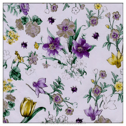 Small flower print hot stamping foil for textile