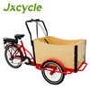 family electric tricycle cargo bike use 3 wheel