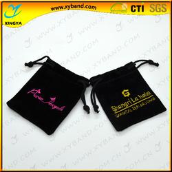 Velvet material custom fashion design pouch