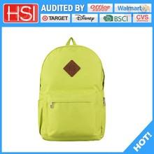 audited factory wholesale price favorable pvc school bag