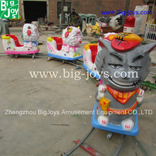 Popular carnival Amusement park electric ride on train with tracks