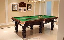 Economic 8ft MDF billiard table,classic type inflatable billiard table on sale