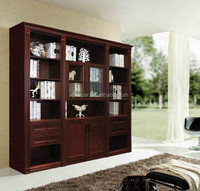 Rosewood 68R Studyroom set,Bookcase, Bookshelf, Bookcase with ladder, Book cabinet