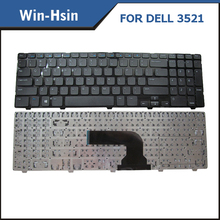 latest computer keyboard for dell inspiron 15R 3521 5521 2521 5528 2528 3328 3537 5535 5537 5421 US FR RU UK SP Version