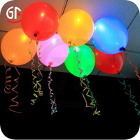 2015 Hot Sale Flashing Party Light Up Balloons Party City