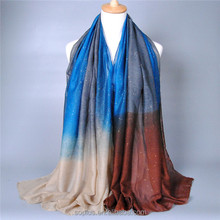 SFK1510019 Hot Sale! 2015 New Fashion Women Autumn And Winter Colorful Scarf Cape Gradient Color Scarf Shawl