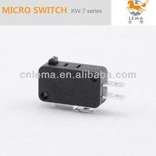 Kw-7-0 rápida eléctrica terminal pequeño bajo la operación fuerza microinterruptor