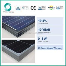 Hot sale mono silicon 260-280w semi flexible solar panel manufacturers in china