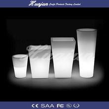 cylinder flower pot lighting for bar/hotel/home/garden