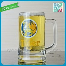 SH486 Suitable size glass cup mug tumbler with handle beer glass mug cup with handle glasses cups mugs