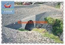 large diameter corrugated steel pipe as small bridge