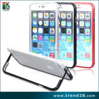luxury bumper metal aluminum hard case cover for iphone 6 plus