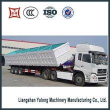 5-13meter,2015 new china manufacturer 2&3 axles side dump semi trailer (tipper truck semi trailer)