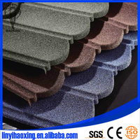 SONCAP ISO colorful stone coated metal roofing shingles