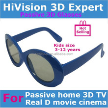 Kids Passive Real D or MasterImage Circular polarized 3d glasses