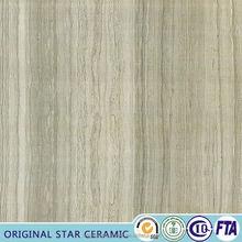Mármore barato azulejo piso de ladrilho Imitative Design de madeira