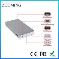 M-10 mobile power supply Lithium polymer battery 4000mah card size ultra thin power bank