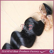 Bolin Silicone Hair Natural Black Body Weave 100% Virgin Full Cuticle Brazilian Remy Hair