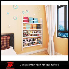 Exporting to UK Original Fashion White MDF Wall Shelf for Home Decor
