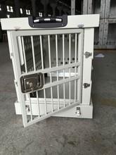 2015 new fashion dog cage foldable aluminium alloy dog cage