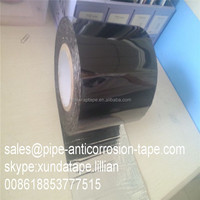 Black color bituminous adhesive joint wrap tape for gas pipe corrosion protection