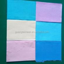 Dentistry surgery or examination disposable dental paper bibs