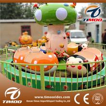 Kiddy ride machine theme park happy ladybug