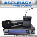 Profissional sem fio UHF microfones para Karaoke UHF-265