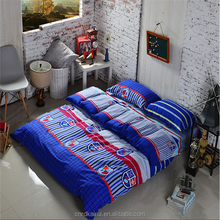 2015 new preppy style printed duvet cover set 100% polyester home sense bedding set wholesale