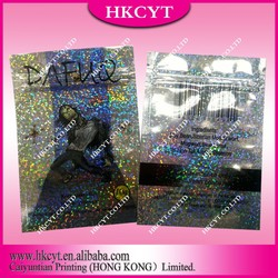 New style dafuq 10g herbal incense bag spice zipper bag
