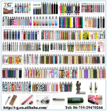 Wholesale China Factory OEM pattern/ leather e cigarette ego t best ego battery accept paypal