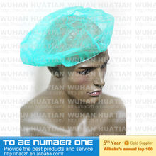 Fasiable disposable PP non woven bouffant cap for nurse
