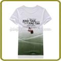 china fabricantes custom algodão camiseta homem 100 penteado camisas de algodão t