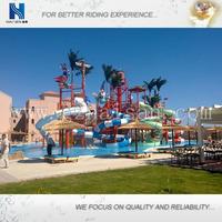interactive family water toboggan slide canton fair