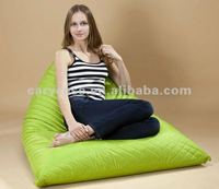 PU faux leather waterproof beanbags,lime bean bags , outdoor beanbag chair